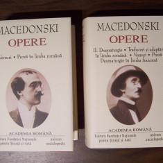 Opere, vol 1, 2 - Alexandru Macedonski (Academia Romana) Editie de lux pe foita