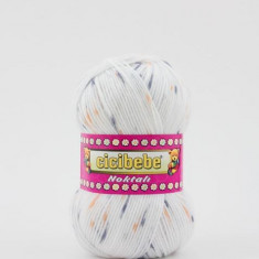 Fir crosetat / tricotat Cicibebe Noktali 33-10 - Fir tricotat si crosetat