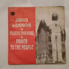 Disc vinil single John Lennon + Plastic Ono Band