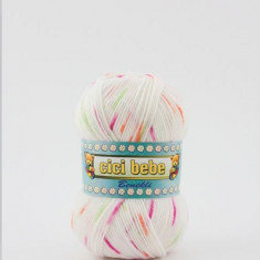 Fir crosetat / tricotat Cicibebe Benekli 99-14 - Fir tricotat si crosetat