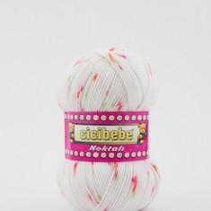 Fir crosetat / tricotat Cicibebe Noktali 33-04 - Fir tricotat si crosetat