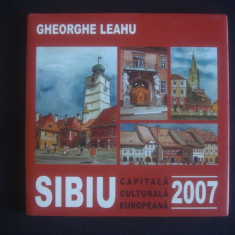 GHEORGHE LEAHU - SIBIU * CAPITALA CULTURALA EUROPEANA * 2007 ALBUM DESEN