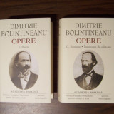 Opere, vol 1, 2 - Dimitrie Bolintineanu (Academia Romana, 2006). Editie de lux - Carte de lux
