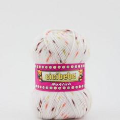 Fir crosetat / tricotat Cicibebe Noktali 33-06 - Fir tricotat si crosetat
