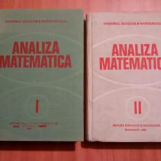 Miron Nicolescu ( si colectiv ) - Analiza matematica (2 vol) - Carte Matematica