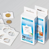 Leuchtturm cartonase lipesti pentru monede x 25 buc. in cutie - 37.5 mm