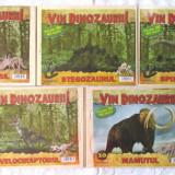 Puzzle 3D din lemn Seria VIN DINOZAURII!, col. ADEVARUL numerele 1, 6, 7, 8, 10 - Colectii