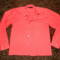 Camasa rosie baieti, simpla, 9-10 ani, 32, maneca lunga. COMANDA MINIMA 30 LEI!, Culoare: Rosu