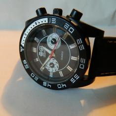 Ceas barbatesc CROSSWATCH, ceas mare 45 mm, Sport, Quartz, Metal necunoscut, Cauciuc, Analog