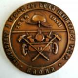 MEDALIE ANIVERSAREA A 100 ANI DE LA INFIINTAREA FCP RADNA POMPIERI M.I. 1988 - Medalii Romania