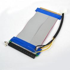 Extensie PCI-E 16X la PCI-E 16X, cu alimentare, Riser, 19 cm - Adaptor interfata PC