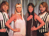VTAF - ARTISTI - FORMATII MUZICA USOARA - IMAGINE ABBA, Necirculata, Fotografie