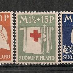 Finlanda.1930 Crucea Rosie CF.315, Nestampilat