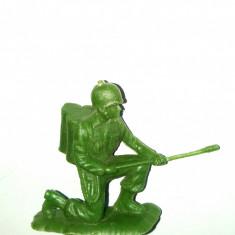 FIGURINA PLASTIC - soldat cu aruncator de flacari WWI - Miniatura Figurina