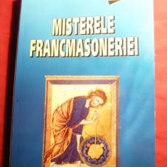P.Stefanescu - Misterele Francmasoneriei Ed.2002 Ed. Vestala - Carte masonerie