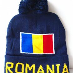 ROMANIA caciula- fes steag tricolor (stema palarie sapca basc) RO33 - Fes Barbati, Marime: Marime universala, Culoare: Din imagine