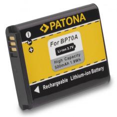 PATONA   Acumulator compatibil Samsung SLB 70A BP-70A SLB70A BP70A