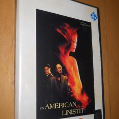UN AMERICAN LINISTIT - FILM DVD ORIGINAL - Film romantice, Romana