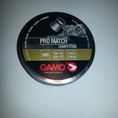 Pelete / alice arma aer comprimat Gamo Promatch cal 4, 5 - 24 lei