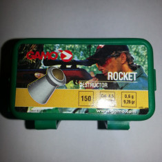 Pelete/ alice arma aer comprimat Gamo Rocket Destructor cal. 4,5 - 24 lei