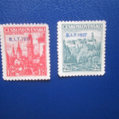 TIMBRE CEHOSLOVACIA 1937