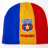 STEAUA - ROMANIA caciula- fes steag tricolor (stema sapca basc) RO29