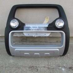 Bullbar inox cu proiectoare compatibil DACIA DUSTER - Bullbar auto