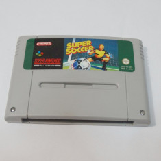 Joc consola Super Nintendo SNES - Super Soccer, Sporturi, Toate varstele, Single player