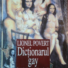 DICTIONARUL GAY de LIONEL POVERT 1998 - Carte Sociologie