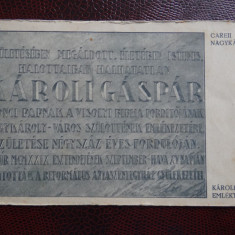 Carte postala veche - Carei - Nagykaroly - Oradea