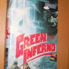 GREEN INFERNO-( 1988 ) - FILM DE COLECTIE CASETA VIDEO VHS - Film Colectie, Altele