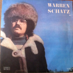 Warren Schatz album disc vinyl lp muzica POP ROCK electrecord, VINIL