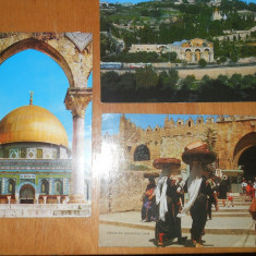 CP - ISRAEL - LOT 5 CARTI POSTALE, Circulata, Printata, Asia
