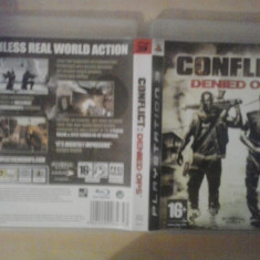 Conflict - Denied Ops - Joc PS3 ( GameLand ) - Jocuri PS3, Shooting, 18+, Multiplayer