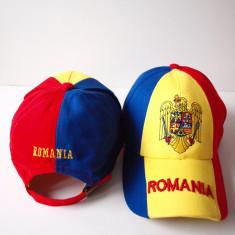 Sapca ROMANIA cu STEAG TRICOLOR si STEMA fes caciula basc palarie RO31 - Fes Barbati, Marime: Marime universala, Culoare: Din imagine