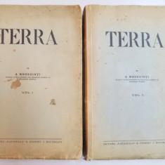 TERRA. INTRODUCERE IN GEOGRAFIE CA STIINTA de S. MEHEDINTI, VOL.I-II - Carte Geografie
