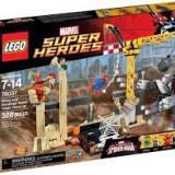 Lego Super Heroes 76037 Rhino and Sandman Supervillain Team-up, sigilat,7-14ani