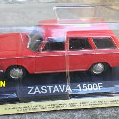 Macheta metal DeAgostini Zastava 1500F (Fiat) NOUA - Masini de Legenda Croatia - Macheta auto, 1:43