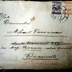 NICOLAE VERMONT- SCRISOARE 1928