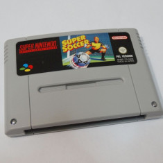 Joc consola Super Nintendo SNES - Super Soccer Altele, Sporturi, Toate varstele, Single player