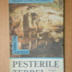 PESTERILE TERREI- TRAIAN CONSTANTINESCU, BUC. 1987 - Carte Geografie