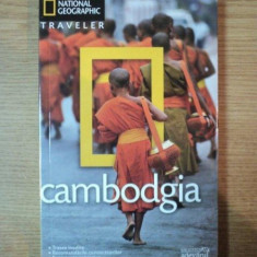 GHID TURISTIC . CAMBODGIA - Carte Geografie