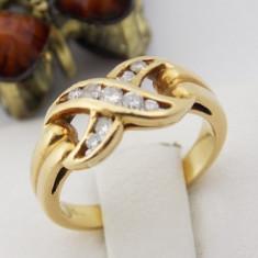 Inel aur 18k, Diamante, 3.15 grame - Inel diamant