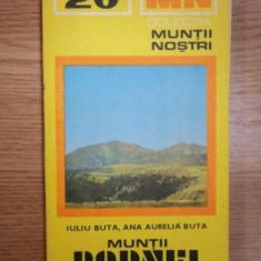 MUNTII NOSTRI NR. 20 : MUNTII RODNEI - Carte Geografie