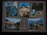 SEPT15-Vedere/Carte postala-Valea Oltului-Cozia-Govora-Calimanesti-necirculata
