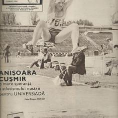 Revista SPORT nr. 6/1981 Universitatea Craiova