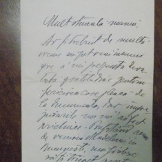 C BACALBASA, SCRISOARE, 20 XII 1932, BUCURESTI