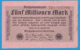 (1) BANCNOTA GERMANIA - 5 MILLIONEN MARK 1923 (20 AUGUST 1923) - UNIFATA