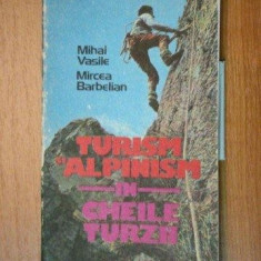 TURISM SI ALPINISM IN CHEILE TURZII - MIHAI VASILE, MIRCEA BARBELIAN 1986 - Carte Geografie