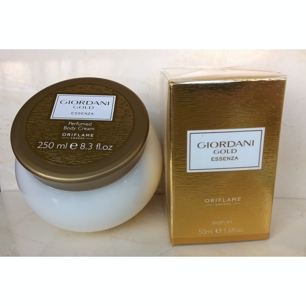 Set Giordani Gold Essenza Oriflame Arhiva Body Cream Foto Mrete Imagine